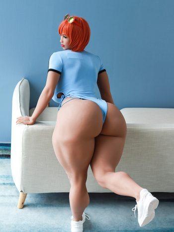 Vivian SSBBW Huge Ass Sex Doll 163CM
