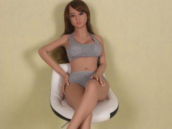 WM Doll 145CM Tan Skin Head #33
