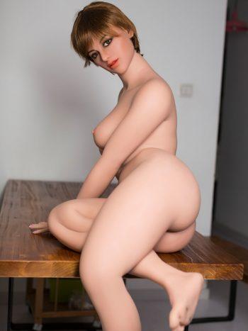 WM Doll 162CM Blond Sex Doll Head #239
