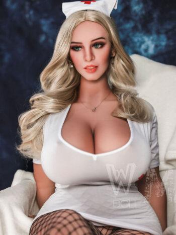 WM Doll 156CM Wide Butt Sex Doll Head #234A