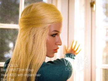 WM Doll 173CM Sex Doll Head #203